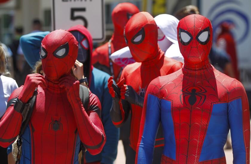 Saturday at Comic-Con