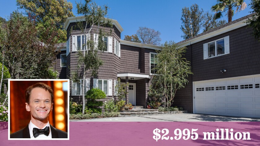 Neil Patrick Harris listed his Sherman Oaks home at $2.995 million.