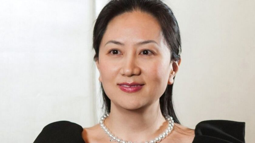 Huawei executive Meng Wanzhou was released on bail Tueday.