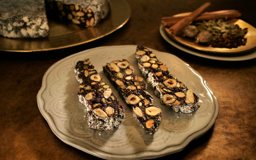 Panforte with candied quince