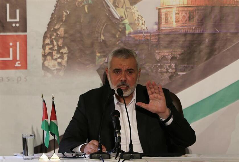 El líder del movimiento islamista Hamás, Ismail Haniye. EFE/Archivo