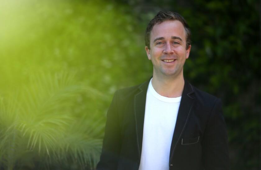 LOS ANGELES, CA-April 20, 2018: Will Von Vogt is photographed at the Geffen Playhouse. Will Von Vogt