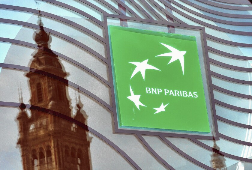BNP Paribas to pay record $8.9 billion in fines
