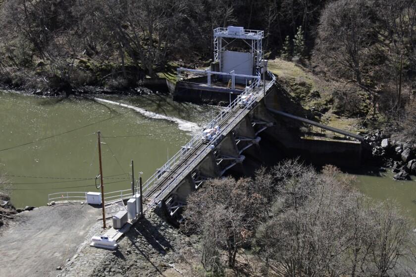 A dam on the lower Klamath River.
