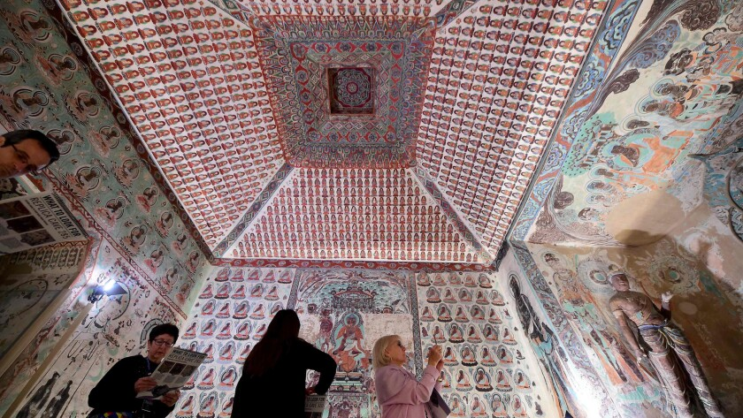 'Cave Temples of Dunhuang' at the Getty Center