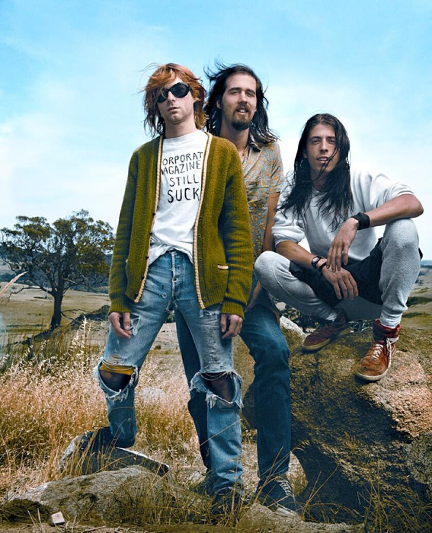 Nirvana in 1992.