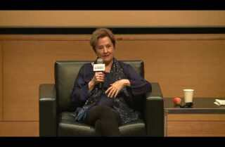 Alice Waters, founder of the Edible Schoolyard Project, talks about eating toward a sustainable world