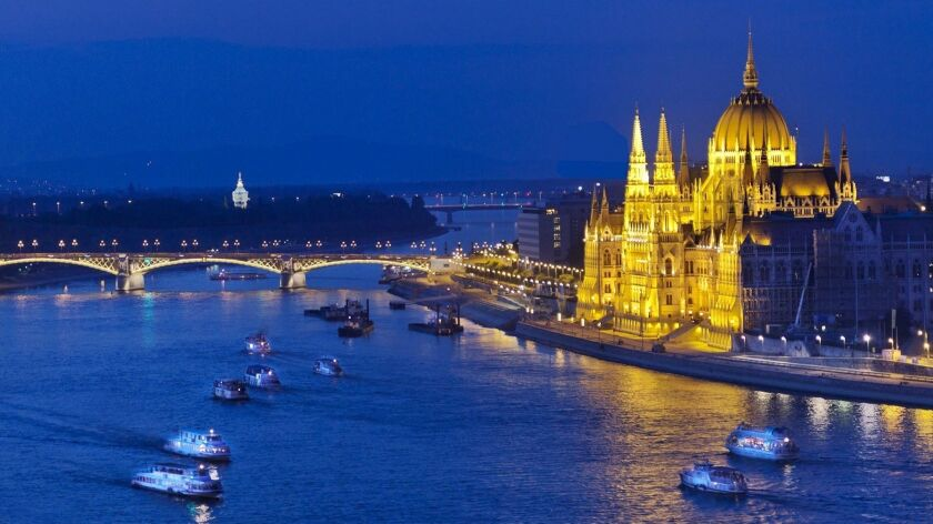 Budapest's impressive Parliament building, perched on the Danube River, is even more extravagant ins
