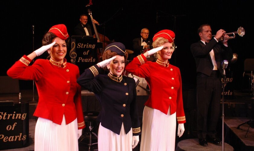 """A scene from the big band touring show """"In the Mood."""" CREDIT: Bud Forrest Productions"""
