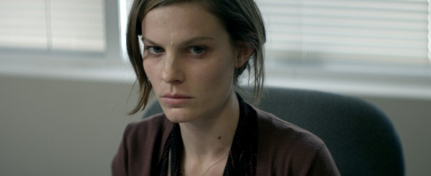 "Lindsay Burdge in a still from ""A Teacher."""