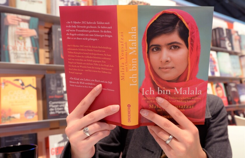 """""""I Am Malala"""" was an international bestseller in 2013. Some in England are calling for 2014 to be the Year of Reading Women."""