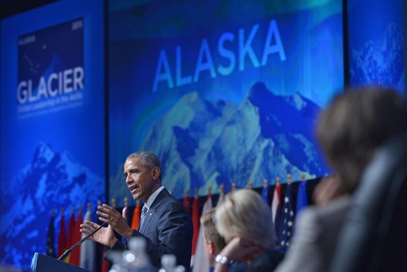 Obama in Alaska