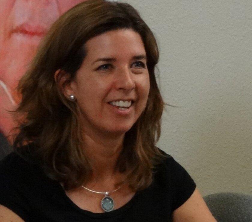 Andrea Guerrero, directora de la organización civil Alianza San Diego.