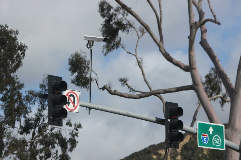 In May 2016, the City of San Diego installed adaptive signal cameras on the mast arms over the intersections of La Jolla Parkway at Torrey Pines Road, La Jolla Parkway at La Jolla Shores Drive, and Torrey Pines Road at Ardath Lane. Adaptive signal timing adjusts green light duration based on real-t