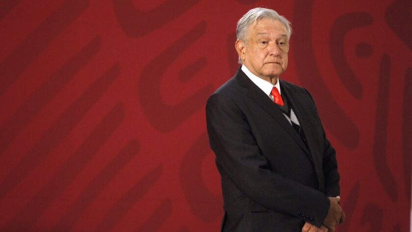 Mexican President Andres Manuel Lopez Obrador at a news conference in Mexico City on Dec. 21.