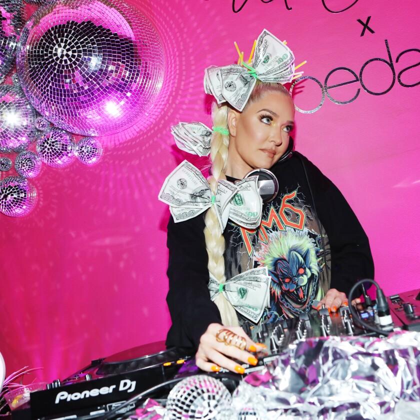 Erika Jayne DJ's NYLON's Midnight Garden Party At Coachella