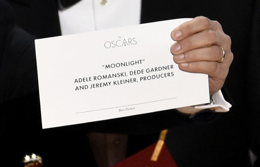 The Academy Awards were betrayed by the simplest item you can imagine. Yes, a piece of paper crashed the Oscars.