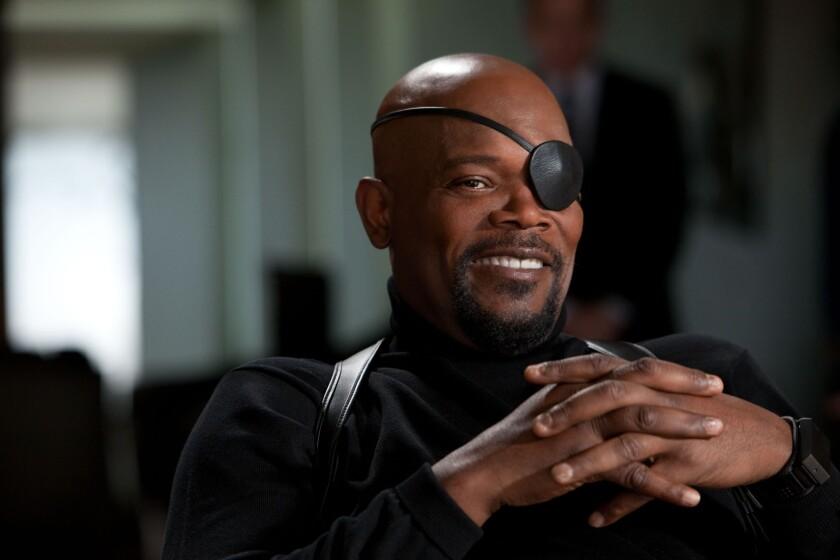 Samuel L. Jackson's Nick Fury