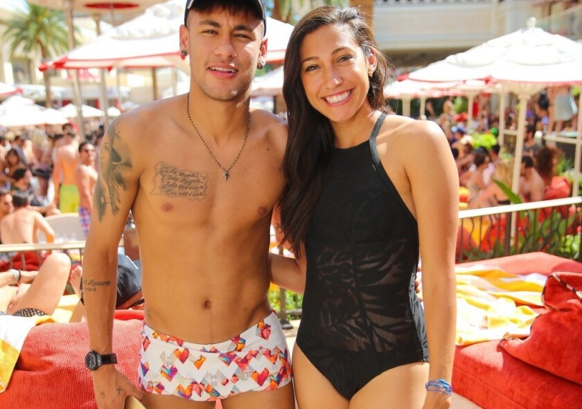 Neymar and Christen Press