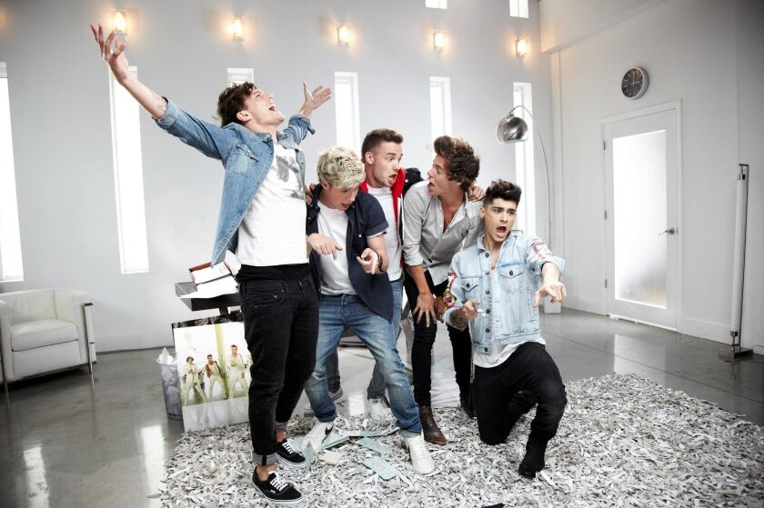 One Direction, in good spirits