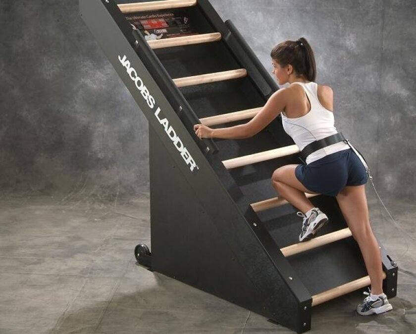 The self-propelled Jacobs Ladder just goes to show you that exercise equipment doesn't have to be high-tech to offer a highly effective workout.