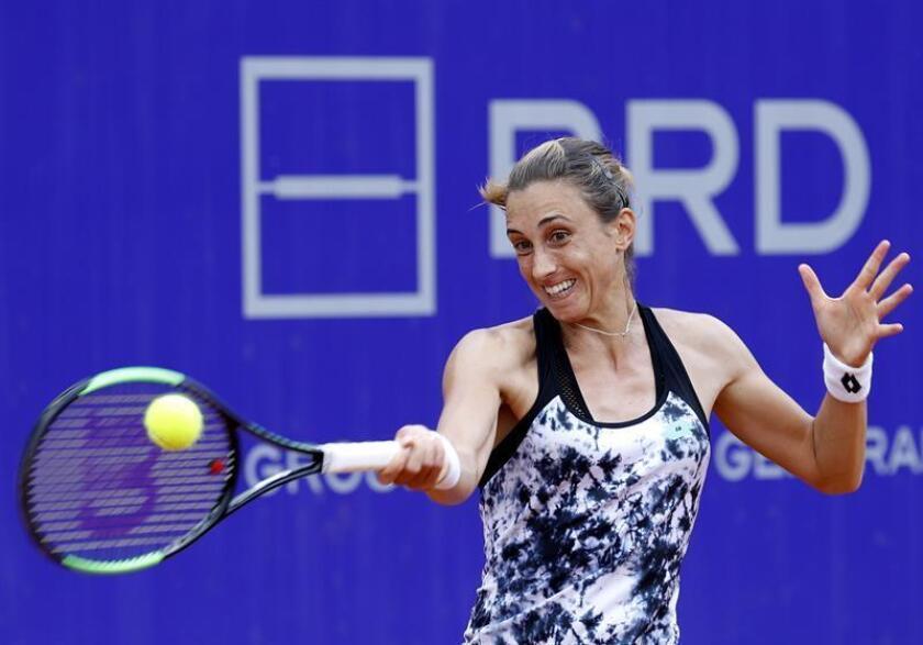 En la imagen, la tenista croata Petra Martic. EFE/Archivo
