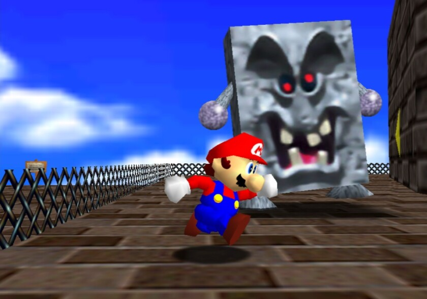 'Super Mario 64' is considered the 3-D game that forever changed the medium.