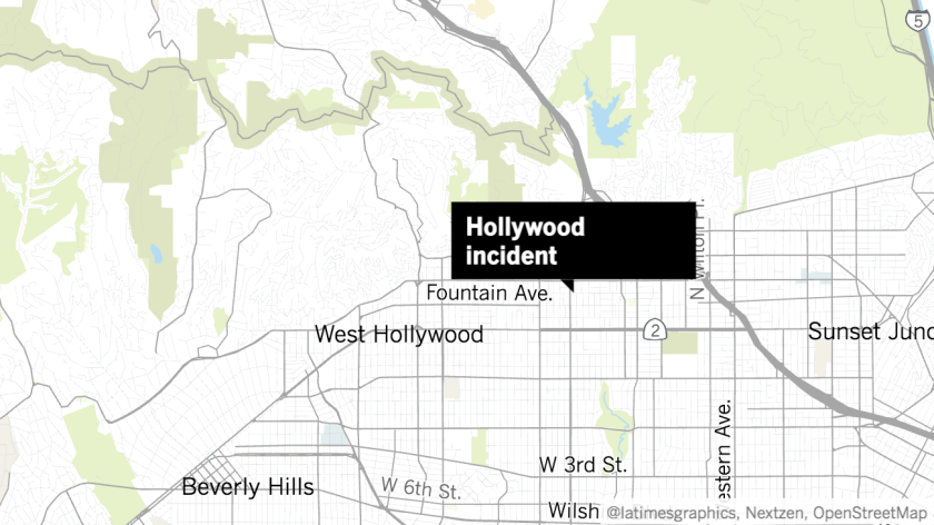 LAPD officer injured when police shoot machete-wielding man in Hollywood