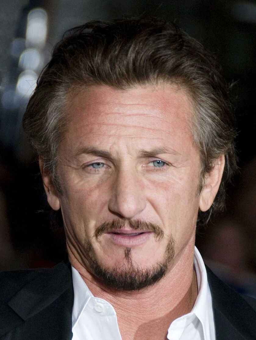 Actor and author Sean Penn