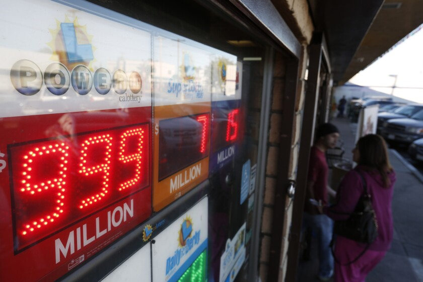 The Powerball numbers on the sign at Mr. C's Liquor in San Pedo can't reflect the acutal jackpot which is valued at more than a billion dolllars. The lottery's jackpot has risen to a record $1.5-billion.