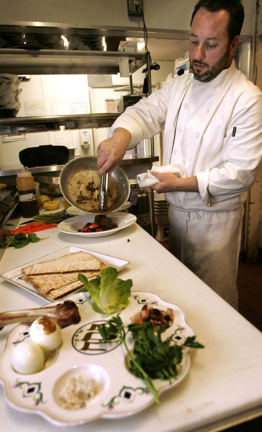 For restaurant's Passover Seder, tradition remains key