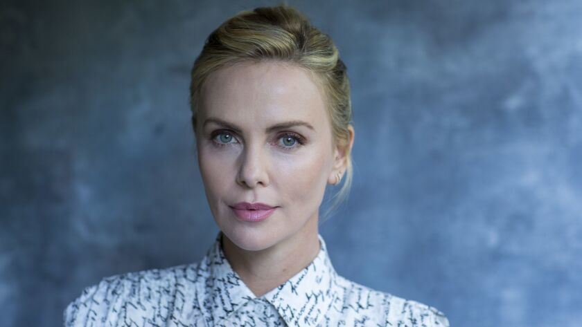 LOS ANGELES,CA --TUESDAY, APRIL 17, 2018--Academy Award-winning actress Charlize Theron is photograp