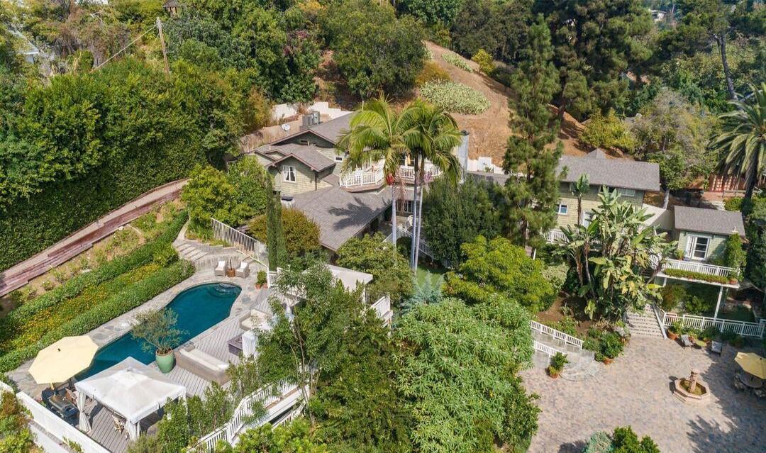 Craig Ferguson's Hollywood Hills Craftsman