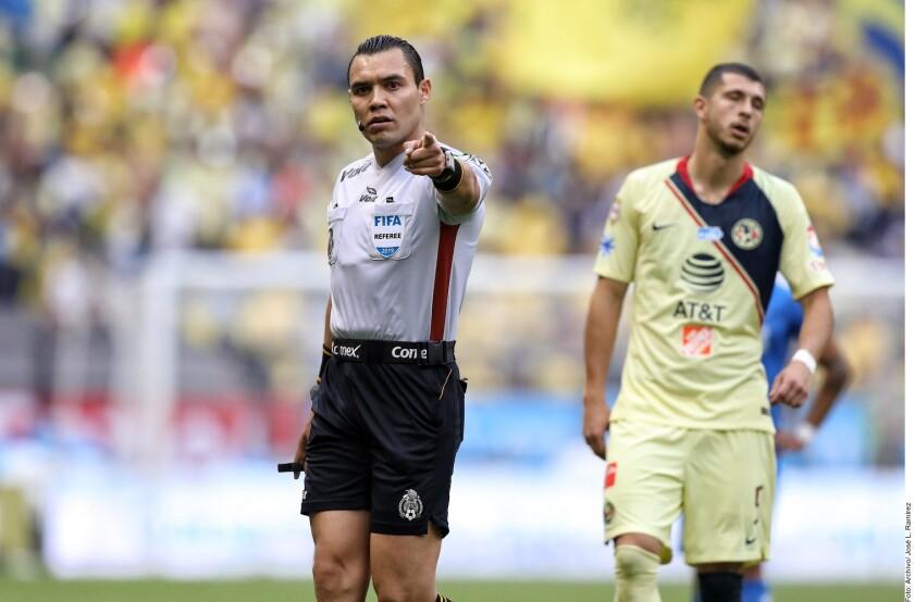 El controversial Marco pitará el América-Pumas.