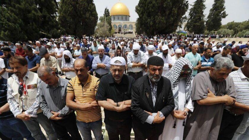 PALESTINIAN-RELIGION-RAMADAN-JERUSALEM