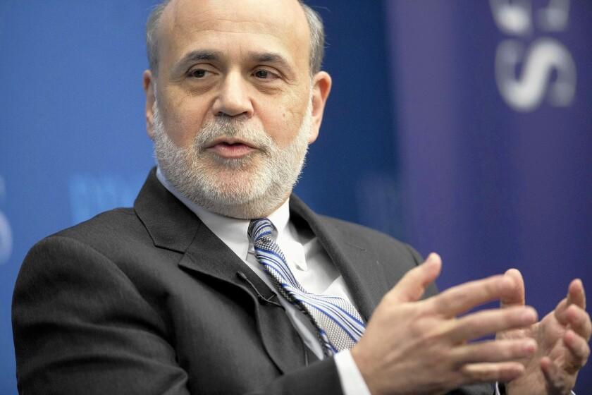 Federal Reserve Chairman Bernanke Speaks At The Brookings Institution