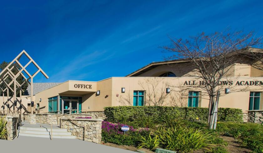 Founded in 1964, All Hallows Academy is located in the Mount Soledad area at 2390 Nautilus St., La Jolla.