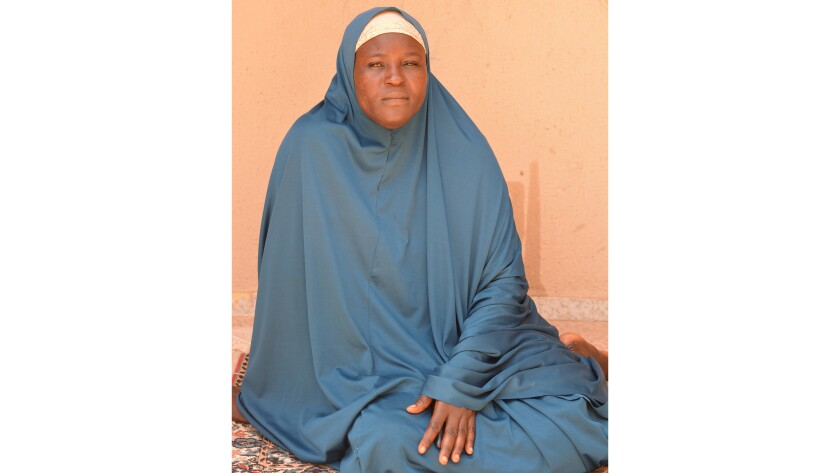 Hadiza Mala, 40, married a man in her village outside the town of Gwoza, unaware that he was a commander in the Nigerian militant group Boko Haram. She betrayed him to Nigerian authorities, who did nothing.