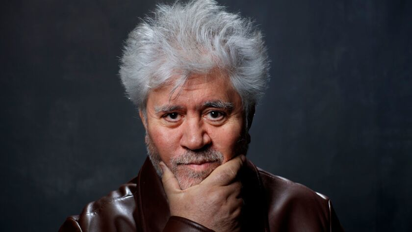 Spanish screenwriter, producer and director, Pedro Almodovar