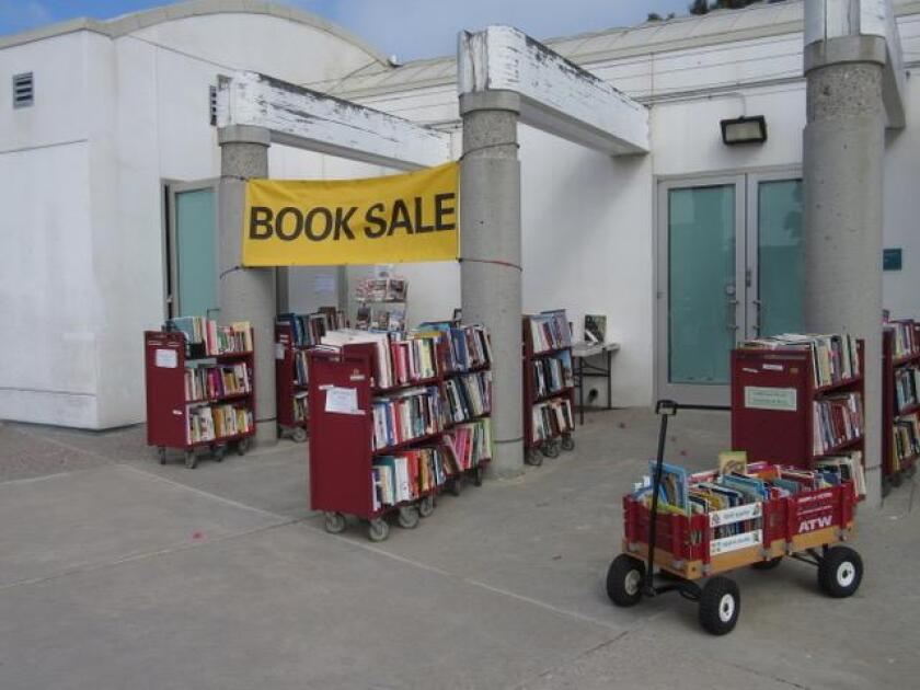 """The Friends of the Pacific Beach/Taylor Library is having a """"bag"""" sale from 11 a.m. to 5 p.m. July 19 and 21."""