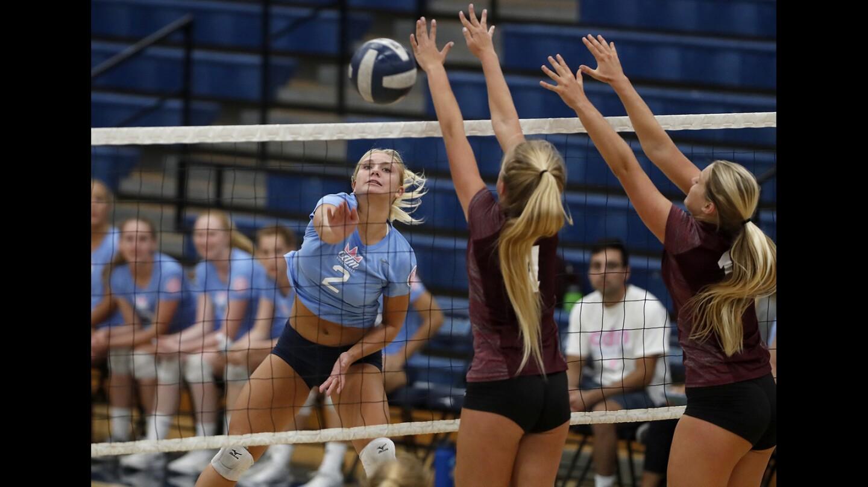 Photo gallery: Laguna Beach vs. Corona del Mar in girls' volleyball