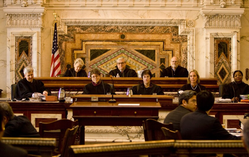 Members of the U.S. 9th Circuit Court of Appeals, which has put on hold for 90 days a ruling that upheld California's law barring therapists from seeking to change minors' sexual orientation.