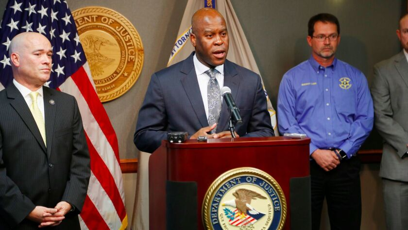 FBI Special Agent Eric Jackson spoke last fall in Wichita, Kan., about a federal investigation that stopped a domestic terrorism plot by a militia group to bomb a mosque and an apartment complex.