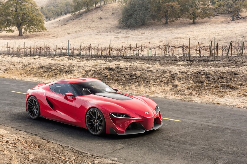 Toyota Ft 1 >> Detroit Auto Show Toyota Debuts The Ft 1 Concept The