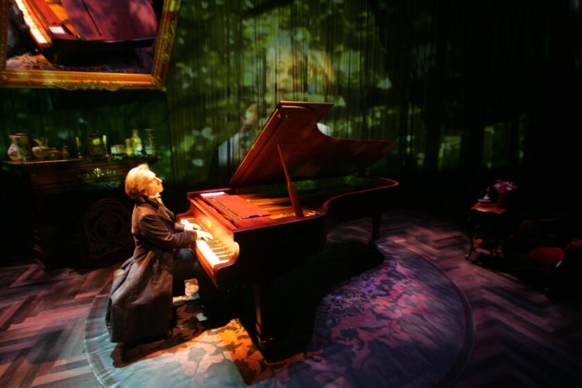 A photo of 'Hershey Felder as Monsieur Chopin'