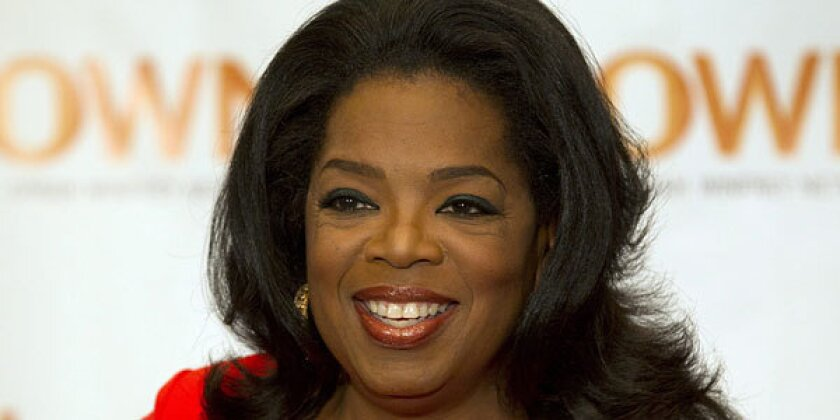 Oprah Winfrey is giving $12 million to the National Museum of African American History and Culture.