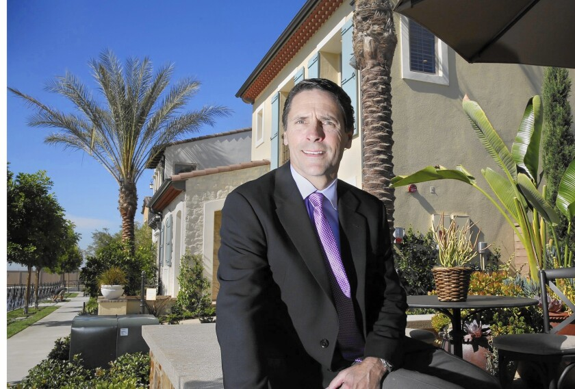 """""""The best way to invest in the housing industry is to become geographically diverse,"""" says Douglas F. Bauer, TRI Pointe's chief executive."""