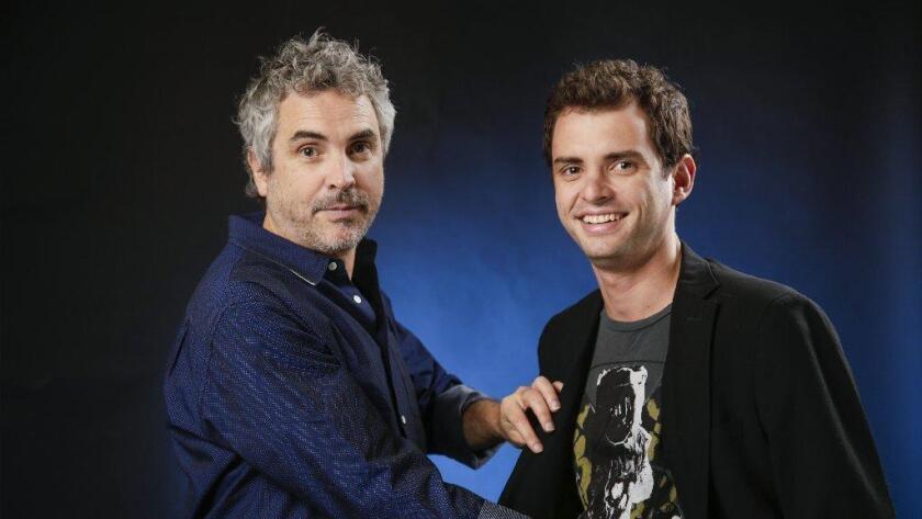 Alfonso y Jonas Cuaron, padre e hijo, cierran el Festival de Cine en L.A.