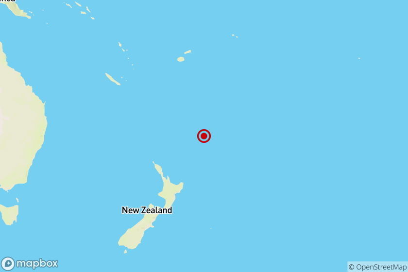 Earthquake: 6.4 quake felt near Ngunguru, New Zealand