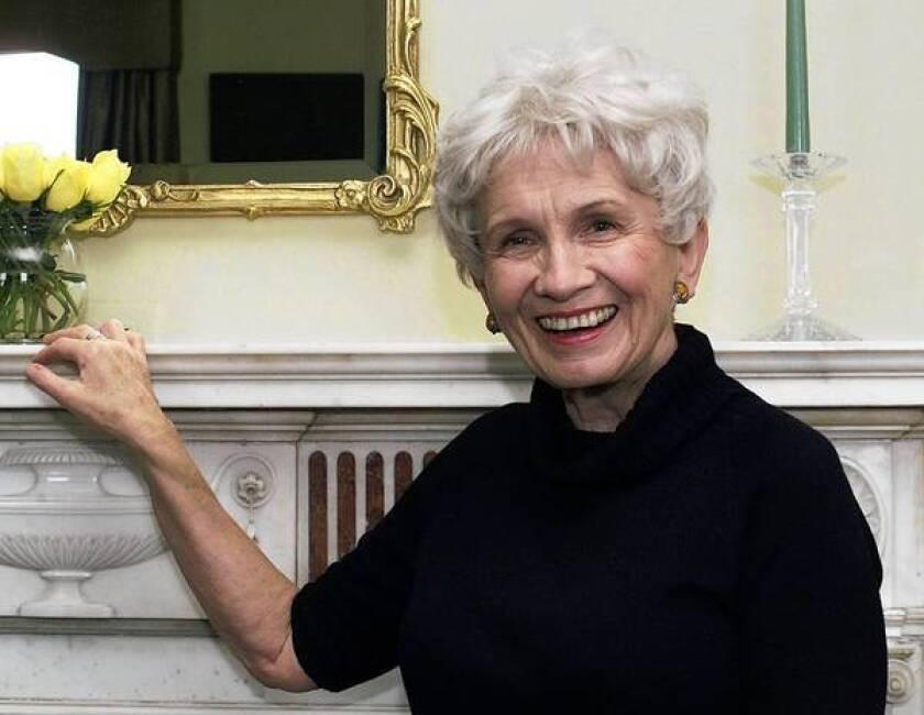 Canadian author Alice Munro in 2002.